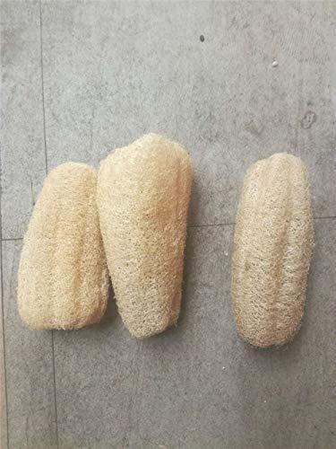 10-15cm Naturel Loofah Éponge Vaisselle Cuisine Anti-huile Laveur Non-adhésif Plat Bol Brosse De Nettoyage Luffa Éponge De Bain