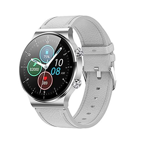 YDK Reloj Inteligente para Hombres y Mujeres M2Pro, IP68 Empresa Impermeable Ritmo cardíaco Sleep Monitoring Bluetooth Call Music Sports Mode Watch, Adecuado para iOS Android,F