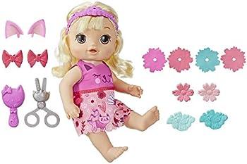 Baby Alive Snip 'n Style Baby Blonde Hair Talking Doll