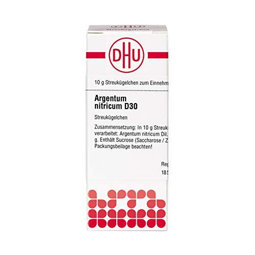 DHU Argentum nitricum D30 Globuli, 10 g Globuli