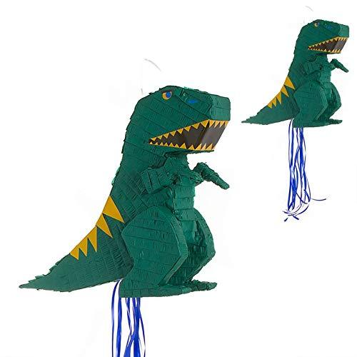 Makingifts Piñata Cumpleaños para Relleno de chuches y Regalos 1 Solo Uso T-Rex 48 cm