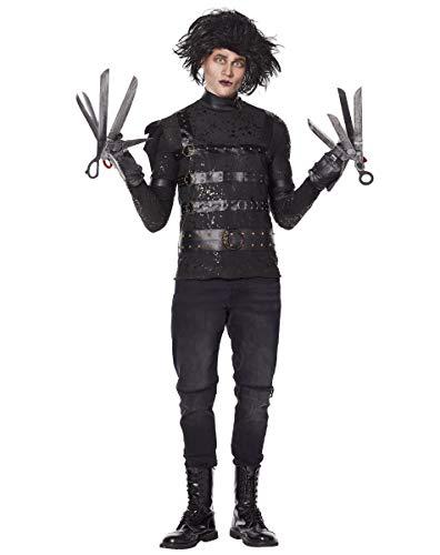 Spirit Halloween Adult Edward Scissorhands Costume | Officially Licensed – XL