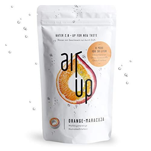 """air up® Duft-Pods \""""Orange-Maracuja\"""" für air up® Trinkflasche im 6er Pack für 30 Liter Geschmack"""