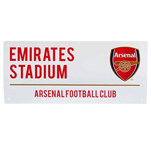 Gunners Official Arsenal FC Emirates Stadium Street Sign 40cm x 18cm
