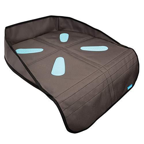 Munchkin Protetor de assento de carro Brica Booster, marrom/preto