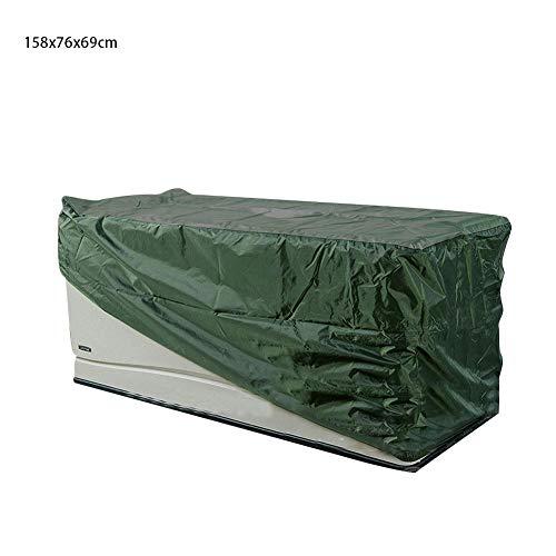 aheadad Outdoor Gartenmöbel Abdeckung Wasserdicht Atmungsaktiv Winddicht Outdoor Schrank Möbel Staubschutz Terrassendeck Box Abdeckung Oxford Tuch