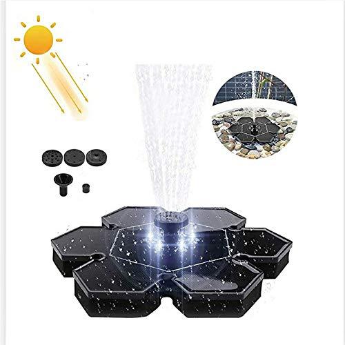 Solar Springbrunnen Led Schwimmend, 2.4W Solar Springbrunnen, Solar Springbrunnen Pumpe Mit Akku
