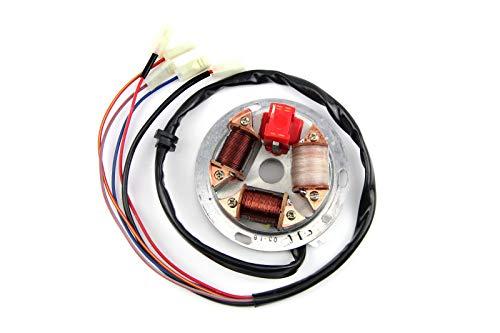 Grundplatte Stator komplett 12V Elektronic für Simson S51 S70 KR51/2
