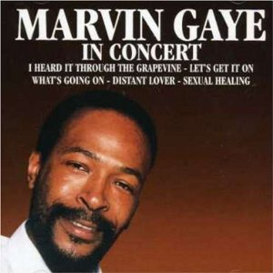 (CD Album MARVIN GAYE Live recordings, 11 Tracks) i heard it through the grapevine / let's get it on / god is love / what's going on / inner city blues / joy / sexual healing u.a.