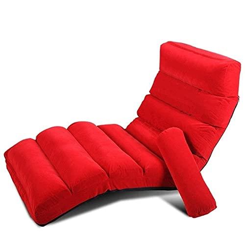 NC Faules Canapé Tatami faltbares und abnehmbares Einzel bett Schlafzimmer Zimmer kleines süßes Mädchen Liegestuhl kleines Canapé Bequem und lässig Estoy freien