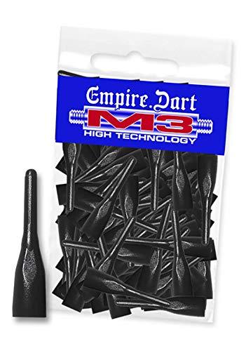 Empire Dart Softdartspitzen - M3 - kurz - schwarz - 100 Stück