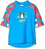Speedo Essential Suntop Im Camiseta, Infant Male, Reflectr Ray Bril BLU/Lav, 2 Años