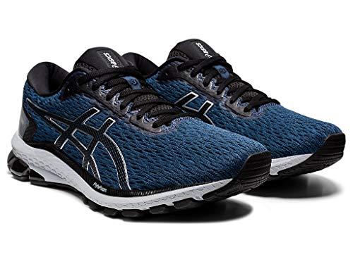 ASICS Men's GT-1000 9 Running Shoes, 13M, Grand Shark/Black