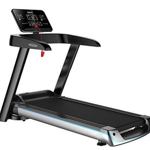 EDECO Cinta de Correr Plegable, 2.5HP Ultra-Quiet Cardio Exercise Fitness Jogging Running Cinta de Correr eléctrica Máquina con Pantalla táctil Digital para Uso de Gimnasio en el hogar