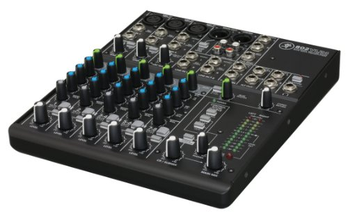 Mackie 24879 802-VLZ4 8 Channel Ultra Compact DJ Mischer