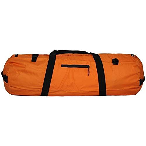 JKZX Tragbare Falten Camping-Zelt Tasche Outdoor Sport Duffel Reisetasche Rucksack (Color : Orange, Size : S)
