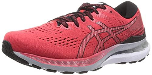 ASICS Herren Gel-Kayano 28 Running Shoe, Electric RED/Black, 45 EU