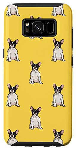 Galaxy S8 Yellow French Bulldog Pattern Dog Case