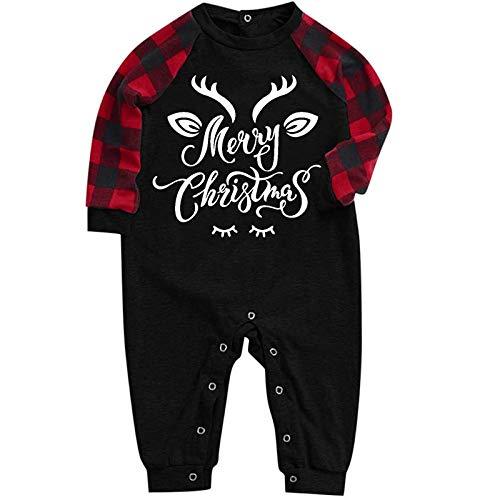 CrazyYoung Familien-Pyjama-Set, passende Weihnachts-Pyjamas, passende Pyjamas...