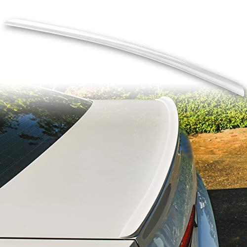 FYRALIP - Spoiler per bagagliaio, per BMW Serie 3, E46, berlina, coupé, E46 M3, facile da installare, misura perfetta, colore: argento metallizzato