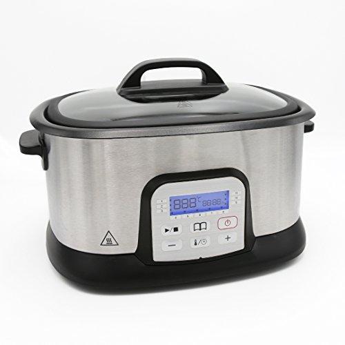 Sous Vide Garer von Unimat – Der Vakuum Garer mit 11 unterschiedlichen Programmen für Fleich, Fisch, Gemüse und Co