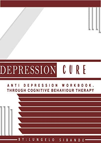Depression Cure anti depression workbook through cognitive behavior therapy product image
