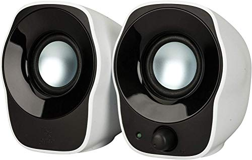 Logitech Z120 Compact PC Stereo Speakers, 3.5mm Audio Input, USB Powered,...