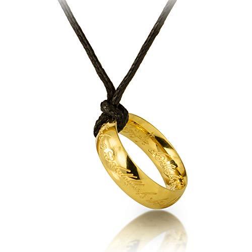 Collar Anillo único Señor de los anillos Anillo señor de los anillo El señor de los anillo lord of the ring