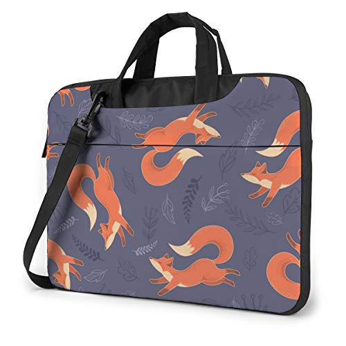 Stunning Fox 13in Laptop Case Bag Sleeve Carrying Protective Case Messenger Briefcase Computer Bag for Women Men Travel