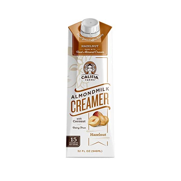 Califia Farms Hazelnut Almond Milk Creamer