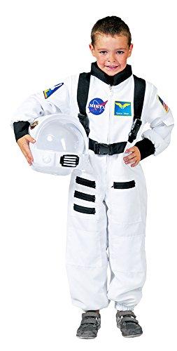 Generique - Weißes Astronaut Kostüm für Kinder 140 (10-12 Jahre)