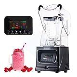 JIAWANSHUN Commercial Smoothie Blenders Heavy Duty 52oz Professional Ice Blender 1800W Ice Crusher...
