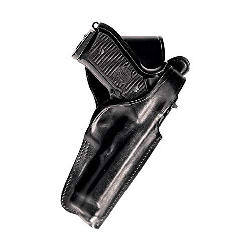 Vega Holster P1 Fondina in pelle da cintura, nera, destra, per Beretta 92/96/98 - Taurus PT92/99/100/101