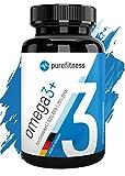 ULTRA HOCHDOSIERT - Omega 3 Kapseln Plus 2000 mg I zertifiziertes Fischöl I 120 Fischölkapseln I...