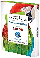 Hammermill Printer Paper, Premium Color 28 lb Copy Paper, 8.5 x 11 - 1 Pack (300 Sheets) - 100 Bright, Made in the USA,...