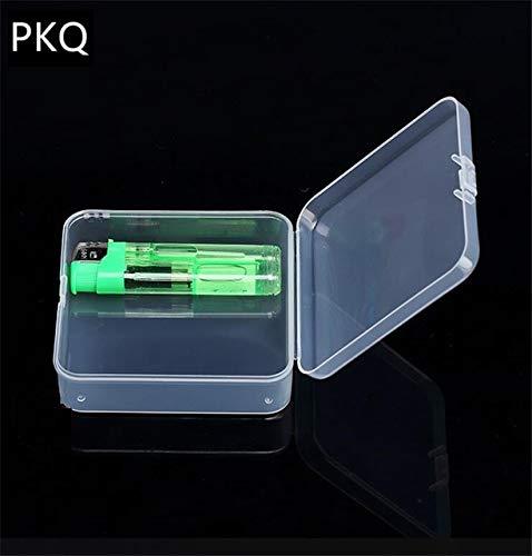 Mdsfe 21 maten transparante deksel kleine plastic doos voor kleine voorwerpen onderdelen gereedschap opbergdoos sieraden vitrine schroefdoos parels container nieuw - 8,4 x 8,4 x 3 cm