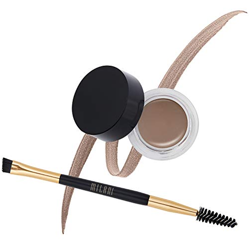 Milani Stay Put Brow Color - Medium Brown (0.09 Ounce) Vegan, Cruelty-Free Eyebrow Color that Fills and Shapes Brows