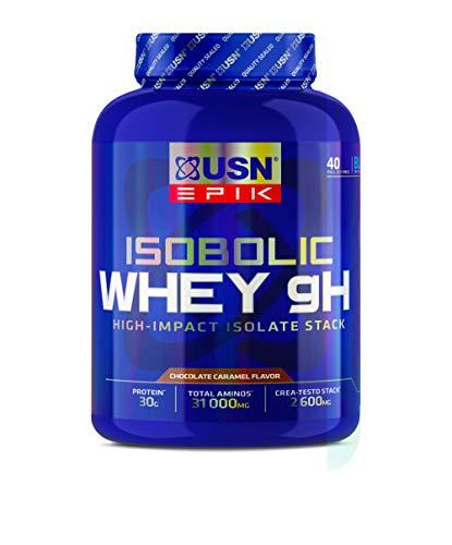 USN EPIK Isobolic Whey Protein Caramel Chocolate, 1.6 kg