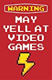 Damdekoli Yell at Video Games Poster, 11x17 Inches Gaming, Wall Art Print, Boys Room, Gamer