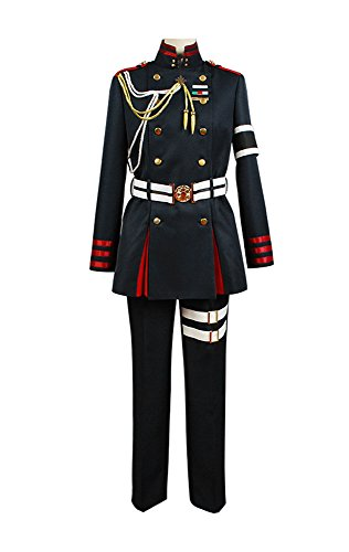 Seraph of The End Guren Ichinose Uniform Cosplay Kostüm Herren XXL