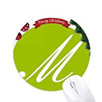 ミュージックレター クリスマスツリーの滑り止めゴム形のマウスパッド