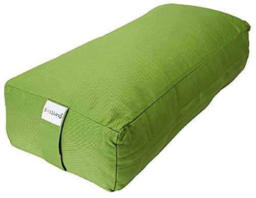 Sol Living Yoga Bolster Pillow Meditation Cushion Supportive Rectangular Body Pillow...