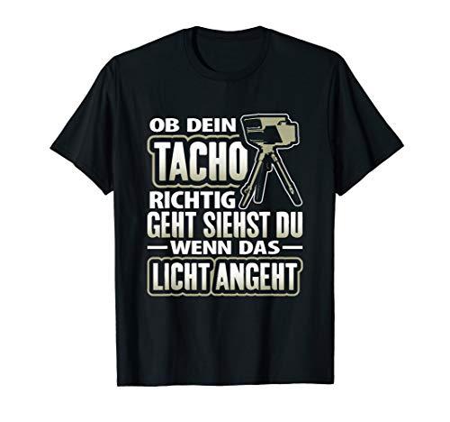 T-Shirt Tacho | Tuner Tuning Autofahren Witz Geschenk Spruch T-Shirt