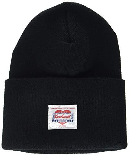 Carhartt Unisex-Adult Heritage Beanie Hat, Black, OFA
