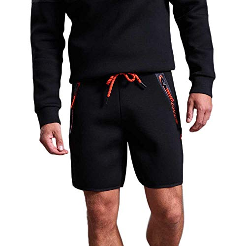 Superdry Herren Sporthose Gym Tech schwarz XL