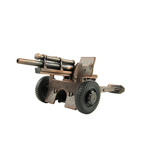 Treasure Gurus Army Model M101 Howitzer Die Cast Pencil Sharpener