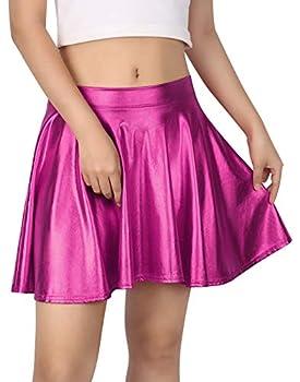 Best pink metallic skirt Reviews