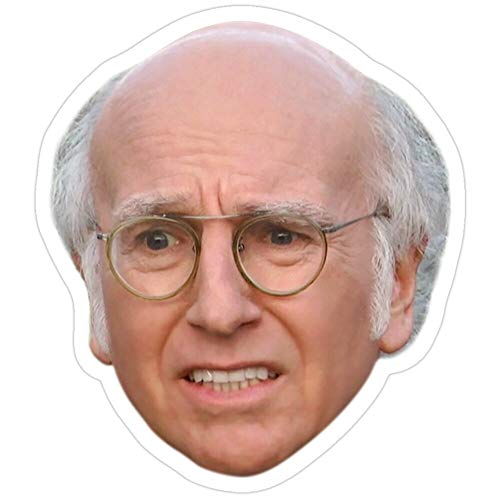 BreathNenStore Curb Your Enthusiasm Larry David - 6 Stickers (3 Pcs/Pack) 4918409335692