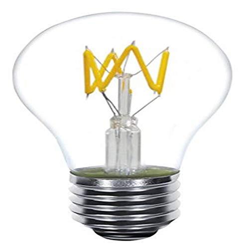 Kodak 41161 Edison A19 Dimmable LED Zig-Zag Multi-Filament Light Bulb,...