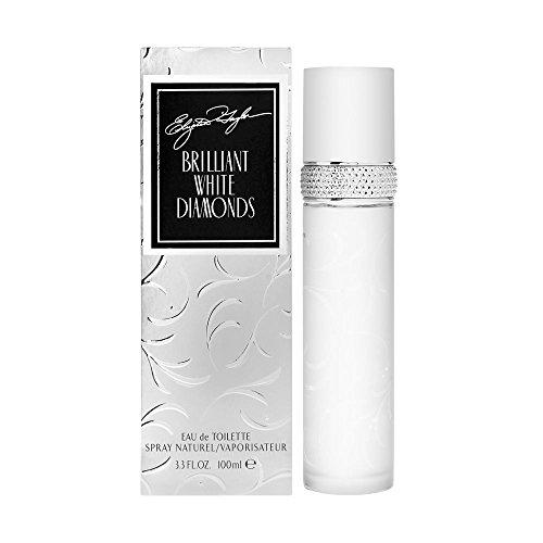 Elizabeth Taylor White Diamonds Brilliant Women's Eau de Toilette Spray, 3.3 Fl Oz, Pack of 1